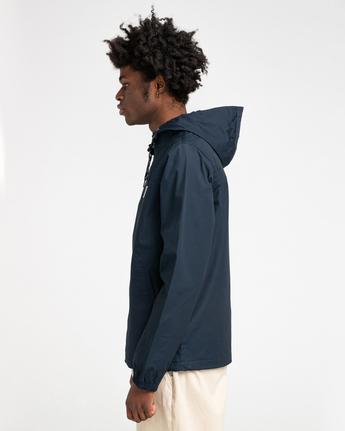 1 Wolfeboro Alder - Water-Resistant Jacket for Men Blue U1JKC3ELF0 Element