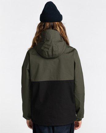 7 Wolfeboro Alder Two Tones - Water-Resistant Jacket for Men Black U1JKC4ELF0 Element