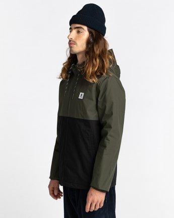 2 Wolfeboro Alder Two Tones - Water-Resistant Jacket for Men Black U1JKC4ELF0 Element