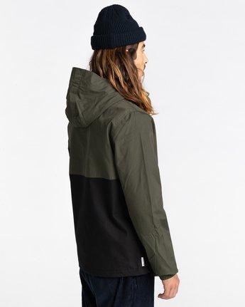 3 Wolfeboro Alder Two Tones - Water-Resistant Jacket for Men Black U1JKC4ELF0 Element
