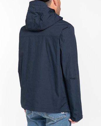 3 Wolfeboro Barrow - Water-Resistant Jacket for Men Blue U1JKC5ELF0 Element