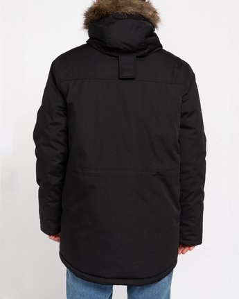 5 Wolfeboro Fargo - Water-Resistant Jacket for Men Black U1JKC9ELF0 Element