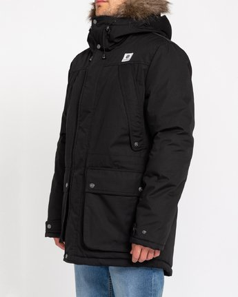 2 Wolfeboro Fargo - Water-Resistant Jacket for Men Black U1JKC9ELF0 Element