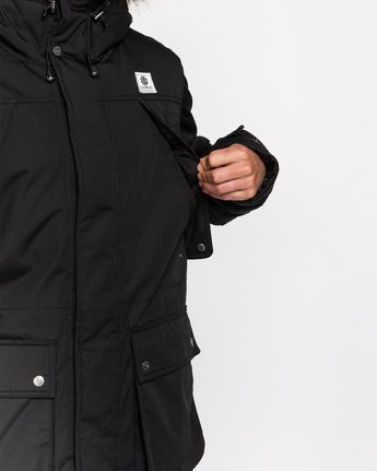 3 Wolfeboro Fargo - Water-Resistant Jacket for Men Black U1JKC9ELF0 Element