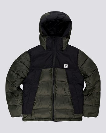 0 Wolfeboro Dulcey - Water-Resistant Jacket for Men Green U1JKD6ELF0 Element