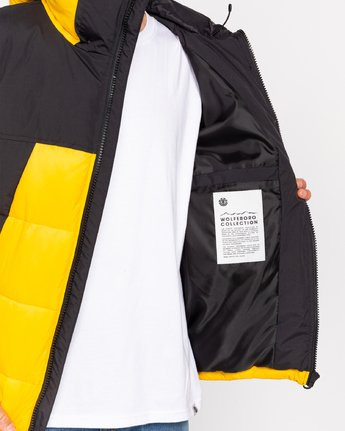 4 Wolfeboro Dulcey - Water-Resistant Jacket for Men  U1JKD6ELF0 Element