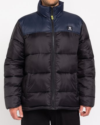 0 Future Nature Alder Arctic - Water-Resistant Jacket for Men Black U1JKE8ELF0 Element
