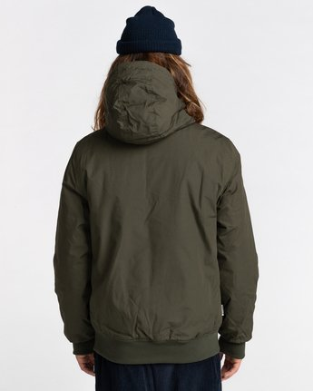 3 Wolfeboro Dulcey - Water-Resistant Jacket for Men Green U1JKF2ELF0 Element