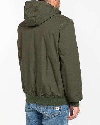 4 Wolfeboro Dulcey - Water-Resistant Jacket for Men Green U1JKF2ELF0 Element