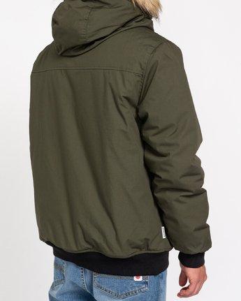5 Wolfeboro Dulcey Explorer - Water-Resistant Jacket for Men Green U1JKF5ELF0 Element