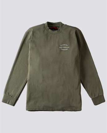Nigel Cabourn Classic - Long Sleeve T-Shirt for Men  U1KTA1ELF0