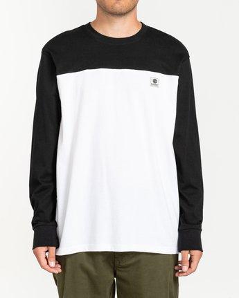 0 Basic Baseball - T-shirt manches longues pour Homme Noir U1LSB9ELF0 Element