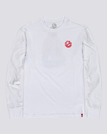 1 Ghostbusters Crushed - Long Sleeve T-Shirt for Men White U1LSE4ELF0 Element