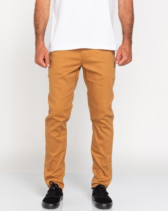 E02 Color Twill - Slim Fit Jeans for Men  U1PNB5ELF0