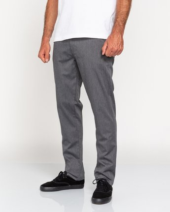 1 Howland Classic - Pantalon chino pour Homme Gris U1PTC1ELF0 Element