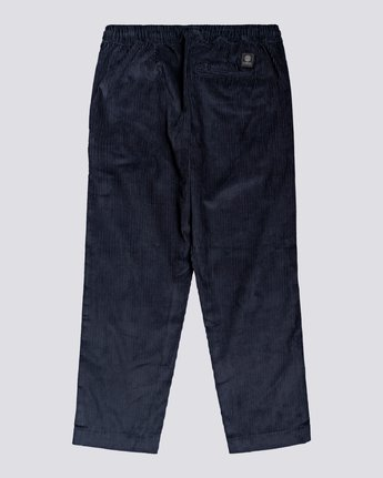 1 Chillin' - Corduroy Trousers for Men Blue U1PTC2ELF0 Element