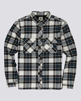 Wentworth Flannel - Long Sleeve Shirt for Men  U1SHB3ELF0