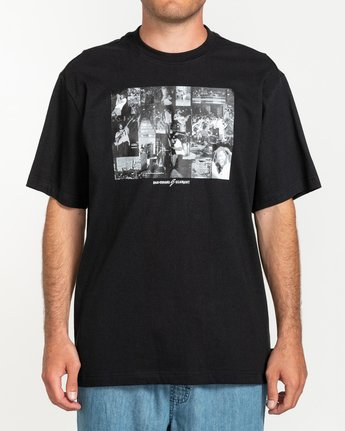 1 Bad Brains Collage - T-shirt pour Homme Noir U1SSI4ELF0 Element