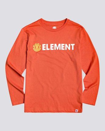 Blazin - Long Sleeve T-Shirt for Boys  U2LSA2ELF0