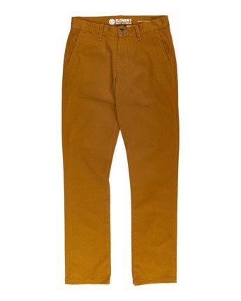 Howland - Slim Fit Trousers for Boys  U2PTA1ELF0