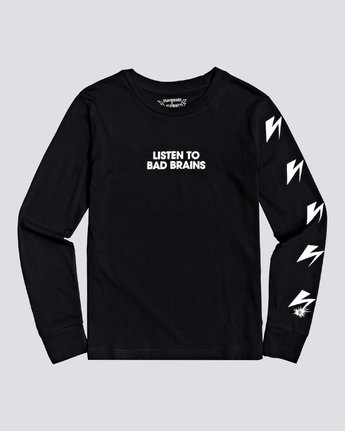 1 Bad Brains Listen 2 Bb - Long Sleeve T-Shirt for Women Black U3LSA3ELF0 Element