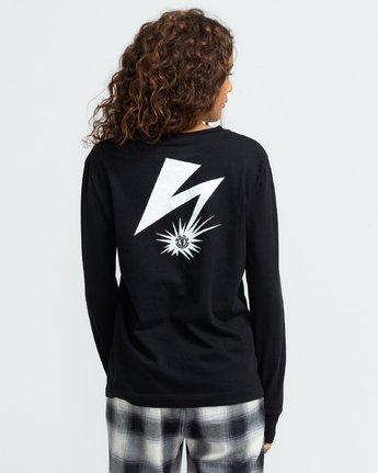 6 Bad Brains Listen 2 Bb - Long Sleeve T-Shirt for Women Black U3LSA3ELF0 Element
