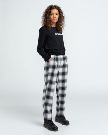 5 Bad Brains Listen 2 Bb - Long Sleeve T-Shirt for Women Black U3LSA3ELF0 Element
