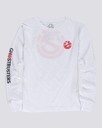 1 Ghostbusters - Long Sleeve T-Shirt for Women White U3LSA4ELF0 Element
