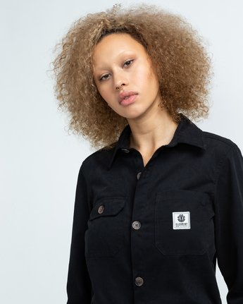 3 Utility - Boilersuit for Women Black U3PTA4ELF0 Element