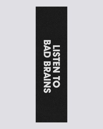 Bad Brains Listen To Bad Brains - Skateboard Deck Grip  U4AHB4ELF0