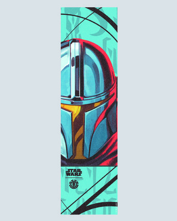 Star Wars X Element Mandalorian Mando Card - Skateboard Grip  U4AHD6ELF0