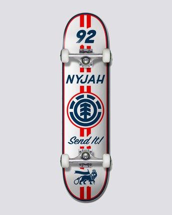"7.75"" Nyjah Racing - Skateboard  U4CPC1ELF0"