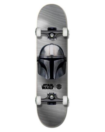 "Star Wars X Element 8"" Mandalorian Beskar - Skateboard  U4CPD3ELF0"