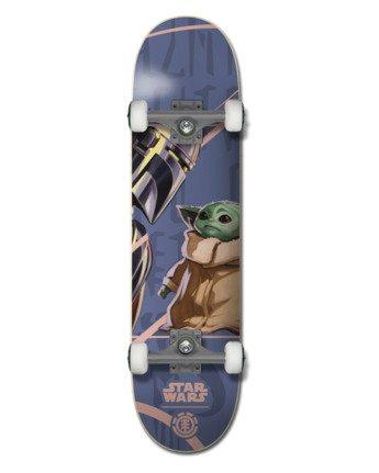 "Star Wars X Element 7.5"" Mandalorian Child - Skateboard  U4CPD4ELF0"