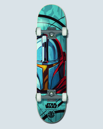 "Star Wars X Element 7.75"" Mando - Skateboard  U4CPD5ELF0"