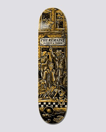 "Timber! The Remains 8.5"" Timber Remains Taxi - Skateboard Deck  U4DCB5ELF0"