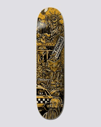 "Timber! The Remains 8.38"" Timber Remains Liberty - Skateboard Deck  U4DCB6ELF0"