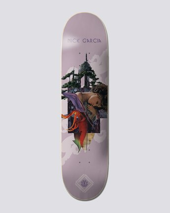 "8.25"" Cut Paste Garcia - Skateboard Deck  U4DCB7ELF0"