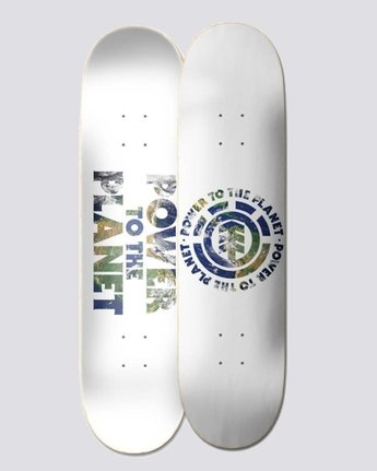 "Power To The Planet 8"" Seal - Skateboard Deck  U4DCJ5ELF0"