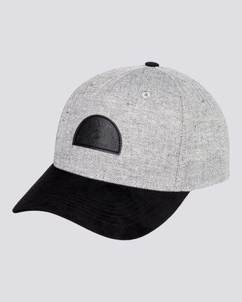 0 Wild - Snapback Cap for Men Grey U5CTA2ELF0 Element