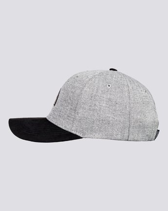 1 Wild - Snapback Cap for Men Grey U5CTA2ELF0 Element