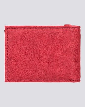 3 Segur - Portafoglio da Uomo Red U5WLB1ELPP Element