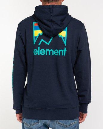 4 Joint - Sweat à capuche Bleu W1HOC2ELP1 Element