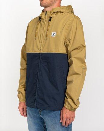 1 Wolfeboro Alder Light 2 Tones - Leichte, wasserabweisende Jacke für Männer Blau W1JKC1ELP1 Element