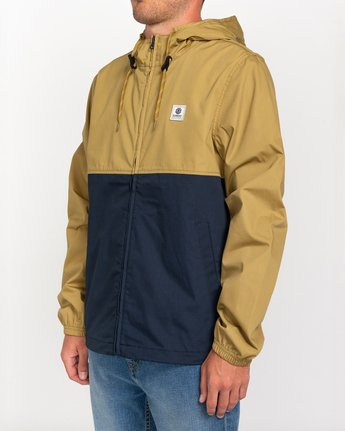 1 Wolfeboro Alder Light 2 Tones - Lightweight Water Resistant Jacket for Men Blue W1JKC1ELP1 Element