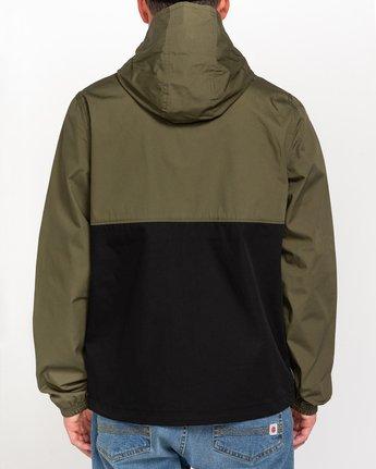 3 Wolfeboro Alder Light 2 Tones - Lightweight Water Resistant Jacket for Men Black W1JKC1ELP1 Element