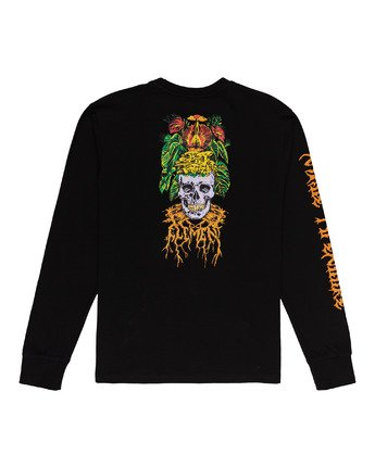 1 L'Amour Supreme Spectral - Long Sleeve T-Shirt Black W1LSC8ELP1 Element