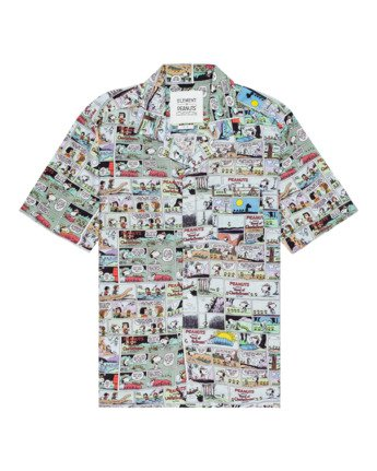 Peanuts Marshmallow - Short Sleeve Shirt for Men  W1SHC7ELP1