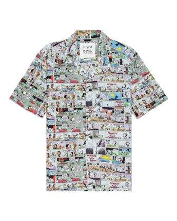 Peanuts Marshmallow - Short Sleeve Shirt for Men  W1SHC7ELP1