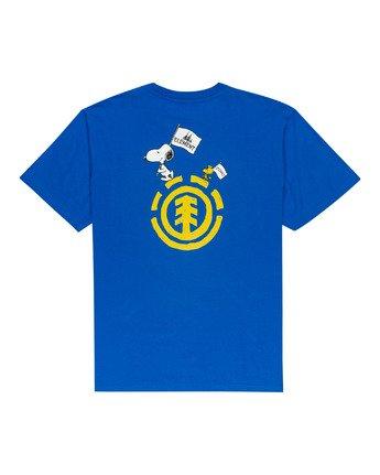 1 Peanuts Slide - T-Shirt for Men Blue W1SSO3ELP1 Element